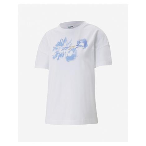 Puma Evide Graphic T-Shirt Weiß