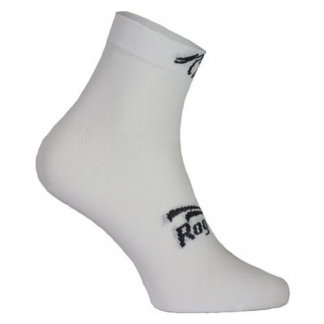 Damen antibakteriell funktionell Socken Rogelli Q-SKIN mit nahtlos ferse, white 010.703.