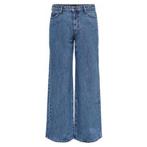 Blaue jeans wide leg für damen
