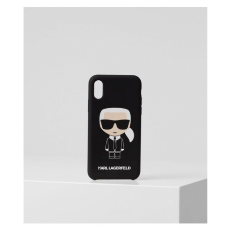 K/Ikonik Handyhülle für iPhone XS Karl Lagerfeld