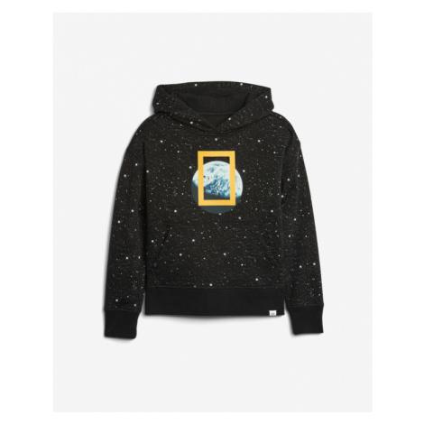 Schwarze sweatshirts über kopf für jungen