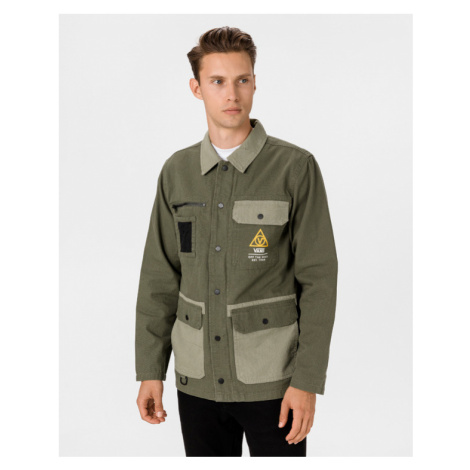 Vans 66 Supply Drill Chore Military Jacket Grün