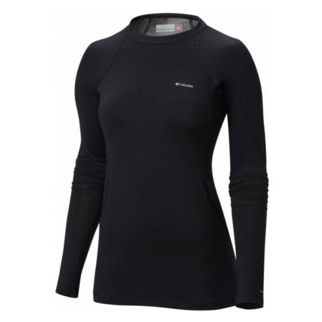 Columbia MIDWEIGHT LS TOP W schwarz - Damen Funktionsshirt