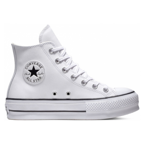 Chuck TaylorAll Star Platform Leather High-Top