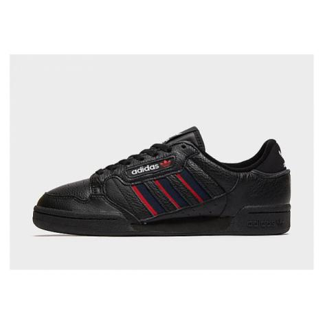 Adidas Originals Continental 80 Stripes Schuh - Core Black / Collegiate Navy / Vivid Red - Herre