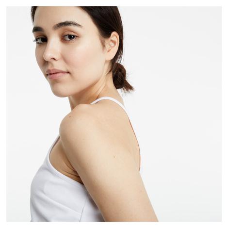 Calvin Klein Milano Jersey Cropped Top White