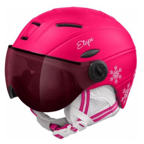Rosa skihelme