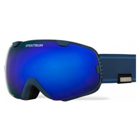 Blaue snowboardbrillen