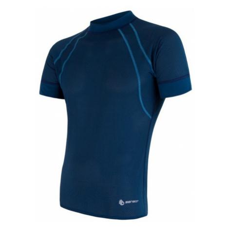Herren T-Shirt Sensor Coolmax Fresh Air dark  blue 17100002