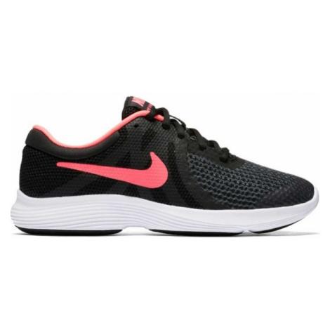 Nike REVOLUTION 4 GS schwarz - Mädchen Laufschuhe