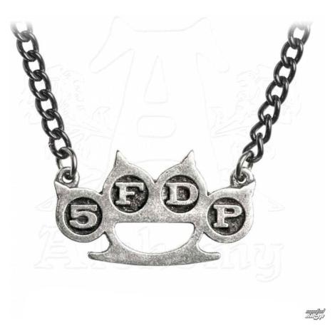 Halskette mit Anhänger Five Finger Death Punch - Knuckle Duster - ALCHEMY GOTHIC - PP510