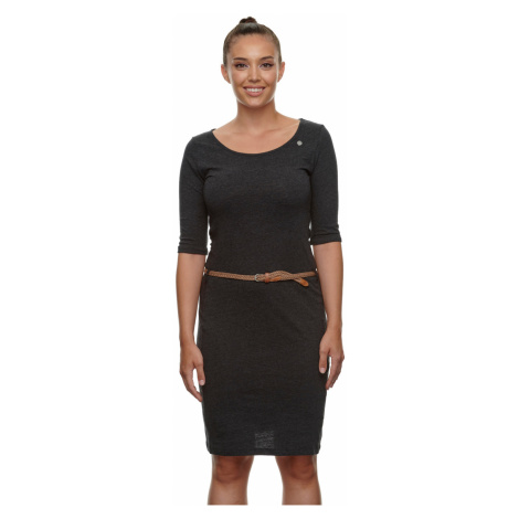 Ragwear Kleid Damen TAMILA ORGANIC 2111-20048 Dark Grey 3012 Dunkelgrau