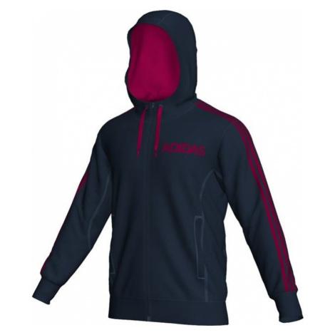 Sweatshirt adidas Lin FZ Hood O04171