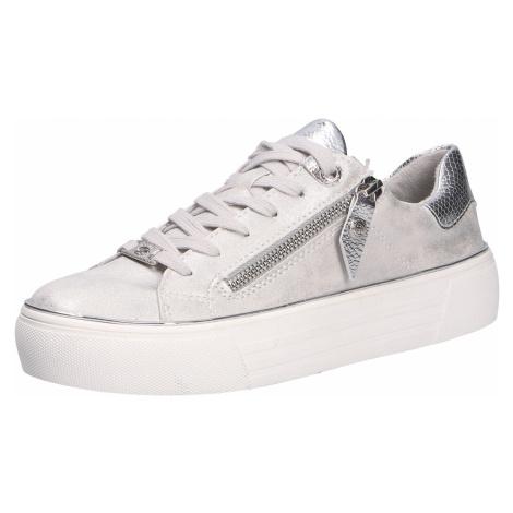 Damen Dockers Freizeit Schnürer grau Damen Sneaker