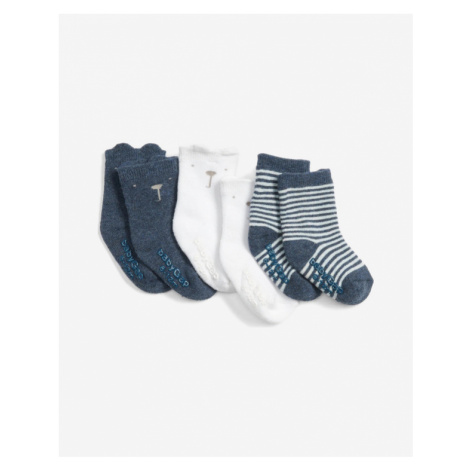 GAP Socks 3 pcs kids Blau Weiß
