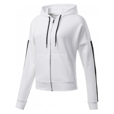 Reebok TE LINEAR LOGO FULLZIP weiß - Damen Sweatshirt