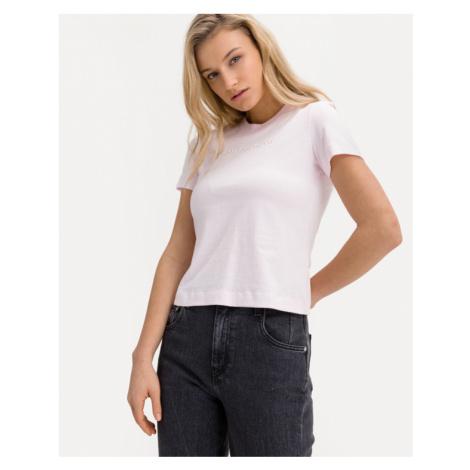 Calvin Klein Shrunken Institutional T-Shirt Rosa