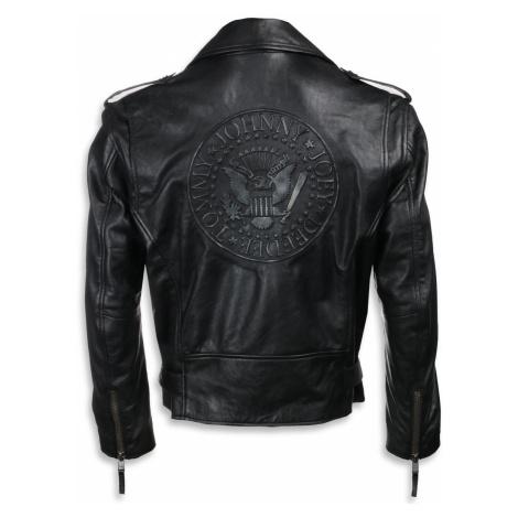 Lederjacke Ramones - BLACK - NNM - EMPB-18-MSJ-06 4XL