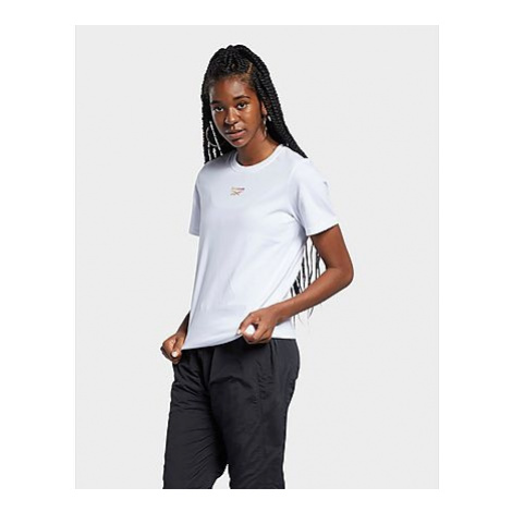 Reebok reebok classics festival graphic t-shirt - White - Damen, White