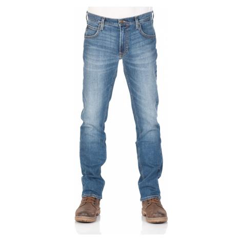 Lee Herren Jeans Daren Zip Fly - Regular Fit - Blau - Broken Blue