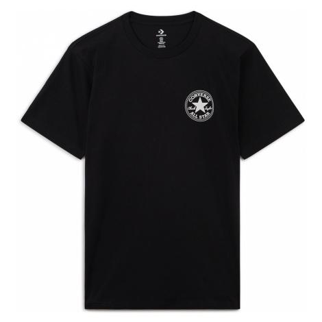 Converse T-Shirt Herren PUFFED CHUCK PATCH TEE BLACK 10021631 001 Schwarz