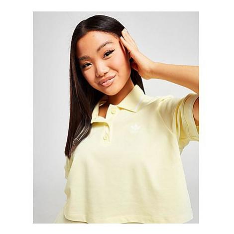 Adidas Originals Tennis Crop Polo Shirt - Damen