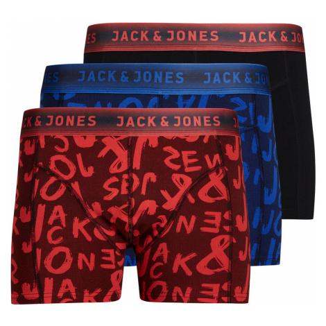 JACK & JONES Bunte Boxershorts Herren Blau