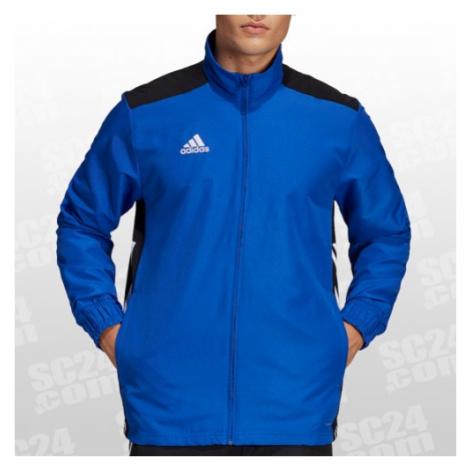 Adidas Regista 18 Präsentationsjacke blau/schwarz Größe XXL