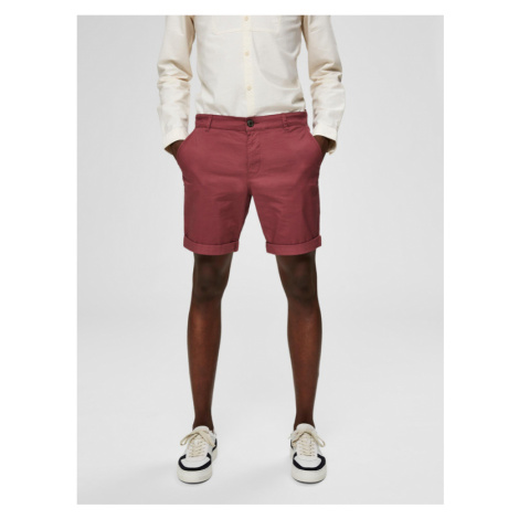 Selected Homme Paris Shorts Rot