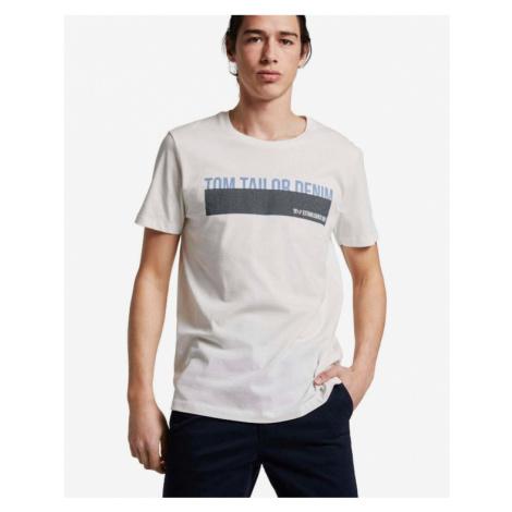 Tom Tailor Denim T-Shirt Beige
