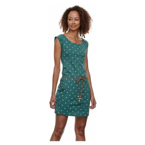 Ragwear Kleid Damen TAG DOTS 2111-20015 Grün 5021 Dark Green