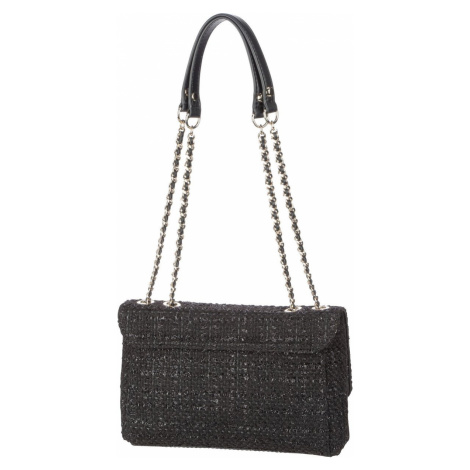 Guess Umhängetasche Cessily Tweed Convertible XBody Flap II Black (2.7 Liter)