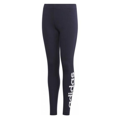 adidas YG E LIN TGHT dunkelblau - Mädchen Leggings