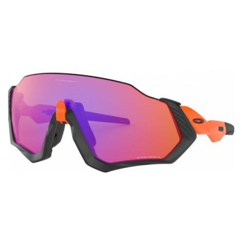 Oakley FLIGHT JACKET orange - Sportliche Sonnenbrille