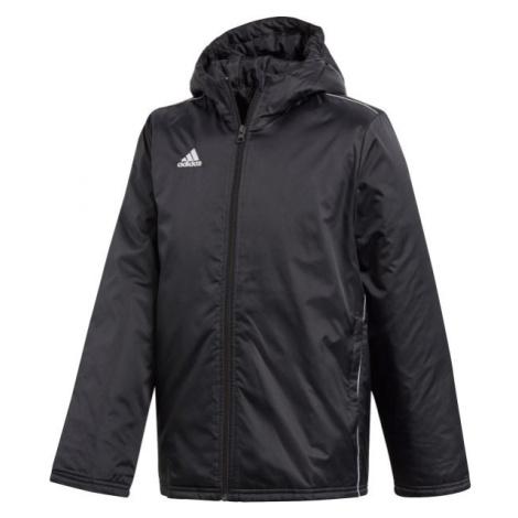 adidas CORE18 STD JKT schwarz - Jungen Sportjacke