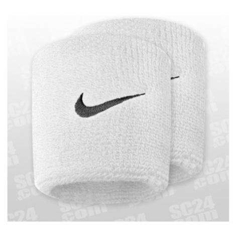Nike Swoosh Wristbands weiss/schwarz Größe UNI