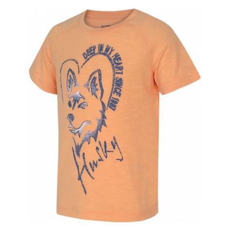 Kinder T-Shirt Husky Zingl Kids lachs