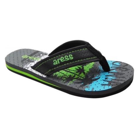 Aress ARNOLD grau - Kinder Flip Flops