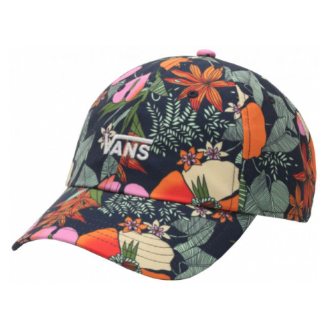 Vans WM COURT SIDE PRINTED HAT BEAUTY FLORAL schwarz - Damen Cap