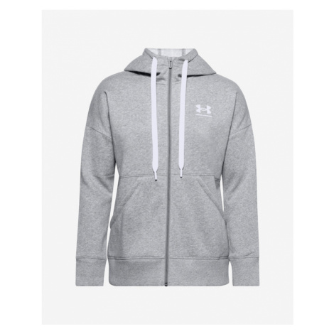 Under Armour Rival Fleece Full Zip Sweatshirt Grau