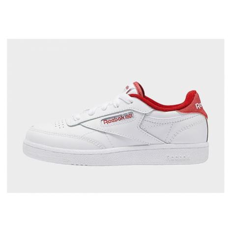 Reebok club c 85 shoes - White / Mars Red / White, White / Mars Red / White