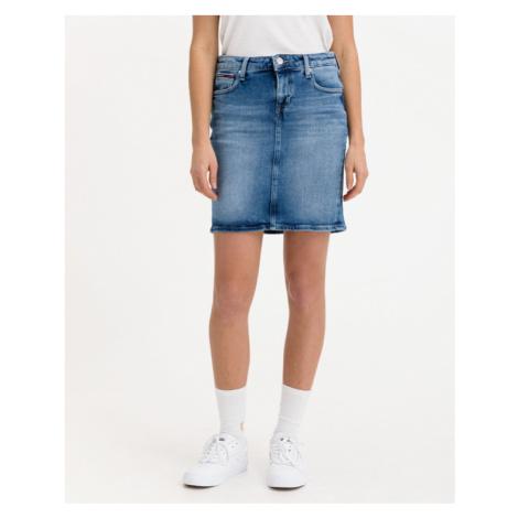 Blaue jeansröcke