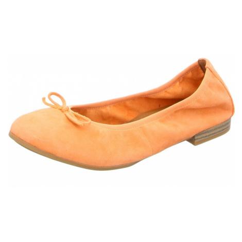 Damen Tamaris Ballerinas orange peach