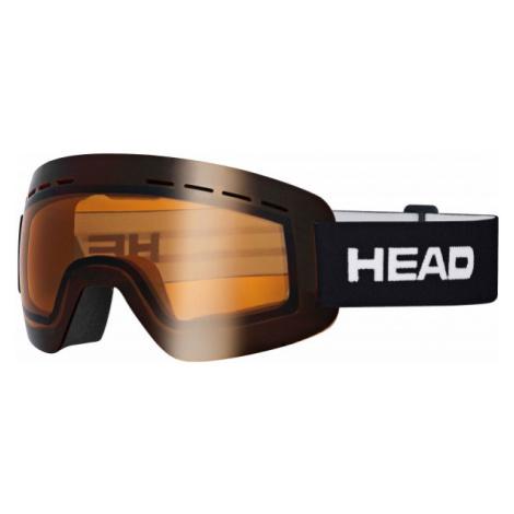 Head SOLAR ORANGE schwarz - Skibrille