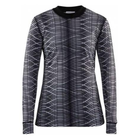 T-Shirt CRAFT Mix and Match 1904508-9102 - black mit weiß