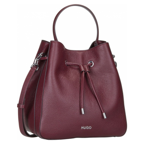 HUGO Handtasche Victoria Drawstring 428517 Medium Red Hugo Boss