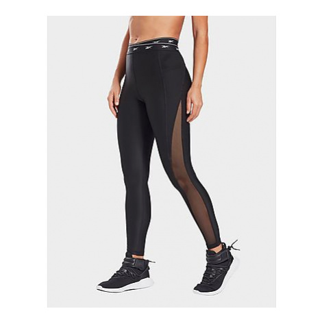 Reebok studio mesh leggings - Black - Damen, Black