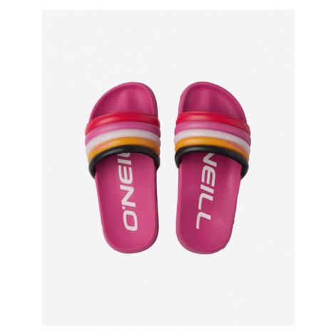 O'Neill Rainbow Kids Slippers Rosa