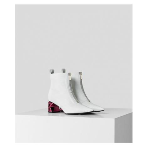 K-Blok Ankle Boot mit Reißverschluss Karl Lagerfeld