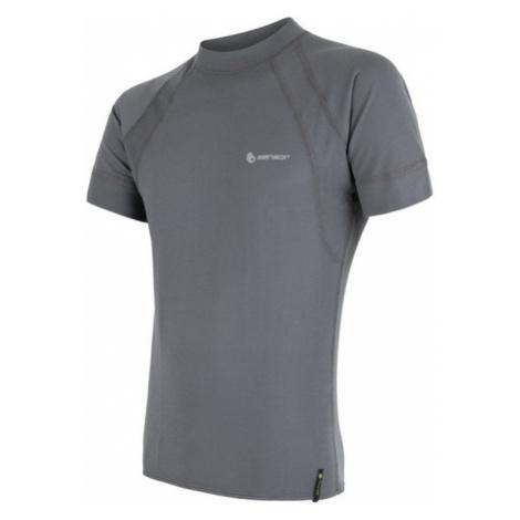Herren T-Shirt Sensor Double Face Kurzarm grey 16200043